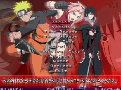 NSUNS - Naruto Shippuuden Ultimate Ninja Special