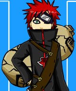 Gaara Dress Up