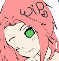 SasuSaku Dress Up WIP