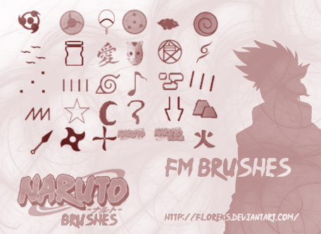 Naruto Brushes by Floreks