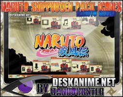 Desk Anime: Naruto Sennin Pack Icons