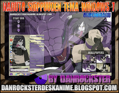Orochimaru Windows 7 Theme