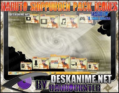 Naruto 9 Tails Chakra Pack Icons